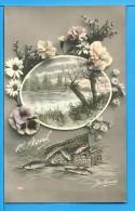 CP, 1er Avril, Voyagé En 1912 - 1er Avril - Poisson D'avril