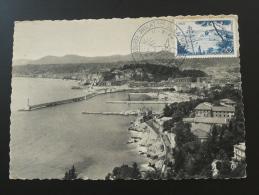 Carte Maximum Maximum Card Port De Nice Harbour 1956 - 1950-59