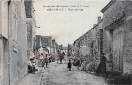 AISNE (02) - Environs De Laon - Chermizy - Rue Buton - Canton De Craonne - Autres Communes