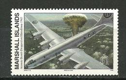 WW II. Bombe Nucléaire Sur Hiroshima. 6 Août 1945. . Un  T-p Neuf **  ILES MARSHALL. Yv. 587 - Marshall