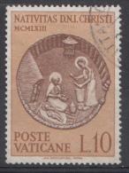 Vatican Mi.nr.:439 Weihnachten 1963 Oblitérés / Used / Gestempeld - Oblitérés