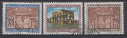 Vatican Mi.nr.:446-448 Schutz Der Denkmäler Nubiens 1964 Oblitérés / Used / Gestempeld - Oblitérés