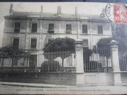 Neuville-sur-Saône Asile De Vieillards Fondation Ducros Et Peauffert 1895 Librairies Du Centre Chambion éditeur Villefra - Neuville Sur Saone