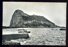 Cpsm De Gibraltar The Rock From The Spanish Shore     AVR12 - Gibraltar