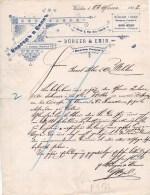 DITTA BURGEN & EMIN-VARSAvia--23-3-1898 - Fatture & Documenti Commerciali