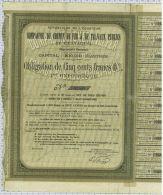 Republique De L'Equateur, Cie Du Chemin De Fer Et De Travaux Publics De Guayaquil - Chemin De Fer & Tramway