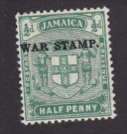 Jamaica, Scott #MR1b, Mint Never Hinged, Coat Of Arms Overprinted, Issued 1916 - Jamaïque (...-1961)