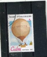 CUBA. 1983. SCOTT 2578. 1st MANNED BALLOON FLIGHT, BICENT. VARIOUS BALLOONS - Cuba