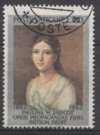 Vatican Mi.nr.:407 Todestag Von Pauline Marie Jaricot 1962 Oblitérés / Used / Gestempeld - Oblitérés