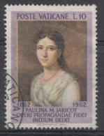 Vatican Mi.nr.:405 Todestag Von Pauline Marie Jaricot 1962 Oblitérés / Used / Gestempeld - Oblitérés