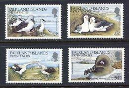 1985 South Georgia (Falkland Islands Dep.) - Albatros Birds 4v., Vogel ,Marine Life , Michel 129/132  Yv.141/144 MNH - Marine Web-footed Birds