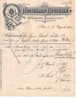 HUFSCHMID-HUGUENIN-TYPOGR APHIE-OLTEN-8-12-1904 - Svizzera