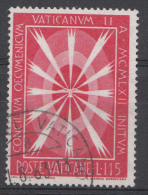 Vatican Mi.nr.:419 Eröffnung Des 2.Ökumenischen.... 1962 Oblitérés / Used / Gestempeld - Oblitérés