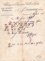 DONNAY FRERES-FABRIQUE DE CHAPEAUX PAILLE ET FEUTRE-BRUXELLES-18-1-190 1 - Paesi Bassi
