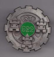 Insigne Du Train  Groupe De Transport  522 Réf 6671 - Armée De Terre