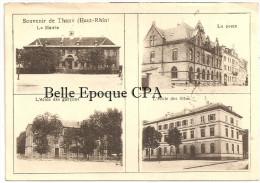 68 - Souvenir De THANN - Mairie / Poste / École +++++++ Vers Chenevières, 1903 +++ RARE / PAS Sur Delcampe - Thann