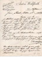 ANTON WOHLFARTH-ARTIKEL FUR MODES &ROBES-WIEN-26-1-1905 - Austria