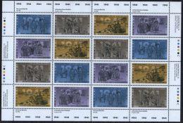 CANADA 1991 SOTT 1348a MNH COMPLETE SHEET VALUE CDA $20. - Ganze Bögen