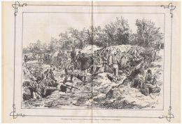 RUSSIA - ROMANIA - RUSE ( BULGARIA ) OLD ILLUSTRATED NEWSPAPER - ORIENT WAR 1877 - Before 1900