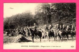 Grandes Manoeuvres - Dragons Lanciers à L´abri D´un Bois - E.L.D. - Manoeuvres