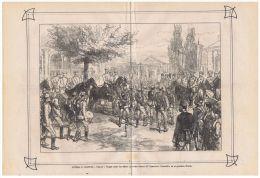 TURKEY - RUSSIA - ROMANIA - OLD ILLUSTRATED NEWSPAPER - ORIENT WAR 1877 -  N.16 - Before 1900