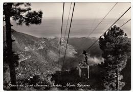 SANREMO FUNIVIA MONTE BIGNONE - 1955 - San Remo