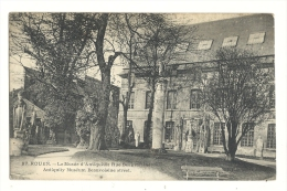 Cp, 76, Rouen, Le Musée D'Antiquités Rue Beauvoisine - Rouen