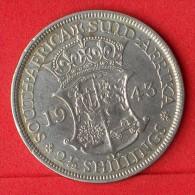 SOUTH AFRICA  2,5  SHILLINGS  1943  SILVER COIN KM# 30  -    (Nº06476) - Afrique Du Sud