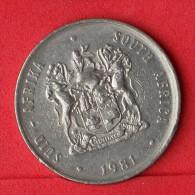 SOUTH AFRICA  1  RAND  1981   KM# 88,a  -    (Nº06483) - Sudáfrica