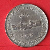 SOUTH AFRICA  5  SHILLINGS  1960  SILVER COIN KM# 55  -    (Nº06485) - Afrique Du Sud