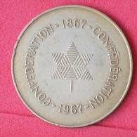 CANADA CONFEDERATION 1867-1967 - 11,7 GRS    -    (Nº06495) - Jetons En Medailles