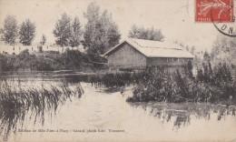 89 PACY Sur ARMANCON   LAVOIR Sur La RIVIERE Le Linge Sèche Au Grand Air  Timbrée 1919 - France