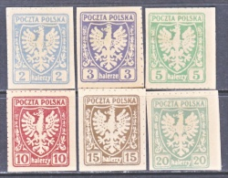 POLAND  61+  * - Unused Stamps