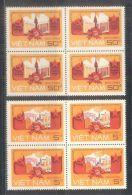 Blocks 04 Of Vietnam Viet Nam MNH Perf Stamps 1987 : All-side Cooperation Between & USSR (Ms527) - Vietnam
