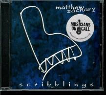 MATHEW  ZACHARY  * SCRIBBLINGS * PIANO SOLO - Instrumental