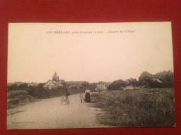 02 Aisne COURMELLES Près SOISSONS Entrée Du Village - France