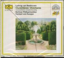 BEETHOVEN OVERTURES BERLINER PHILHARMONIKER HERBERT VON KARAJAN DG GALLERIA - Classica