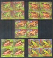 Blocks 4 Of Vietnam Viet Nam MNH Stamps Issued On 1 Apr 2014 : Frog / Rhacophorus Owstoni / Chang Hiu (Ech Cay) (Ms1045) - Vietnam