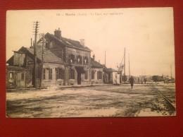 02 Aisne MARLE La Gare Vue Extérieure 69 - France