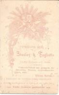 RETRATO DE HOMBRE CON SOMBRERO, CADENA DE Y CORTINA STANLEY Y FOGLIATTO FOTOGRAFIA REAL  - CHAÑAR LADEADO Y CAMILO ALDAO - Old (before 1900)