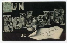 """CPA  54  :  CONS LA GRANVILLE      """"  Un Bonjour """"    A  VOIR   !!! - France"""