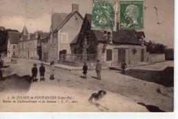St-Julien-de-Vouvantes.. Animée.. Route De Châteaubriant.. Route De Soudan - Saint Julien De Vouvantes