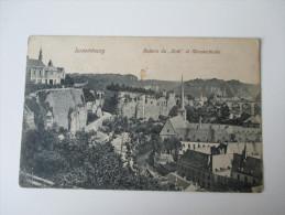"""AK / Bildpostkarte Luxembourg. Rochers Du """"Bock"""" Et Münsterkirche Verlag O. Schleich. Nachf. Dresden 5432 - Luxemburg - Stadt"""