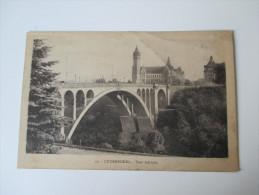 AK / Bildpostkarte Luxembourg. Pont Adolphe Edit. CH. Bergeret, 11. Marche-Neuf - Luxemburg - Stadt