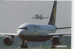 LUFTHANSA AIRBUS A310-200 - 1946-....: Moderne