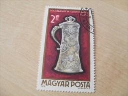"""Ungarn / Hungry  1970    Mi. Nr. 2629   O / Gestempelt     """" Goldschmiedekunst """" - Hongrie"""