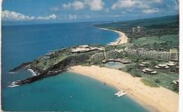 P4334 Sheraton Maui Hotel Kaanapali Beach Maui Hawaii USA  Front/back Image - Big Island Of Hawaii