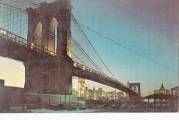 P4324  The Verrazano Narrows Bridge New York  City USA  Front/back Image - Ponts & Tunnels