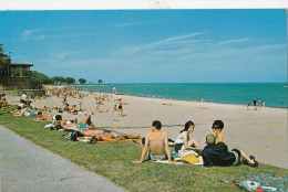 P4311 Milwakee Wisconsin Bradford Beach    USA Front/back Image - Milwaukee