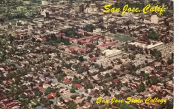 P4310 Aerial View San Jose California   USA Front/back Image - San Jose